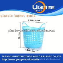 La inyección de plástico vegetal cesta moldes fabricante molde de la cesta de inyección en taizhou zhejiang china