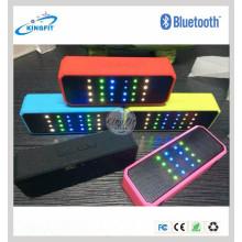 LED Light Bluetooth Speaker FM Radio TF Card Wireless Speaker