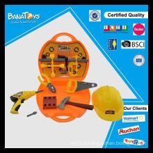 Construção de plástico 21PCS miúdos conjuntos de brinquedos