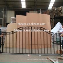 Sliding Main Gate Design / Curved Sliding Gate / Double Spear Top Gate