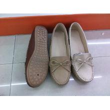 Falt & Comfort Lady Shoes com sola TPR (SNL-10-032)