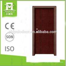 bonne conception meilleur prix résidentiel feu classé portes en bois fabriqués en Chine
