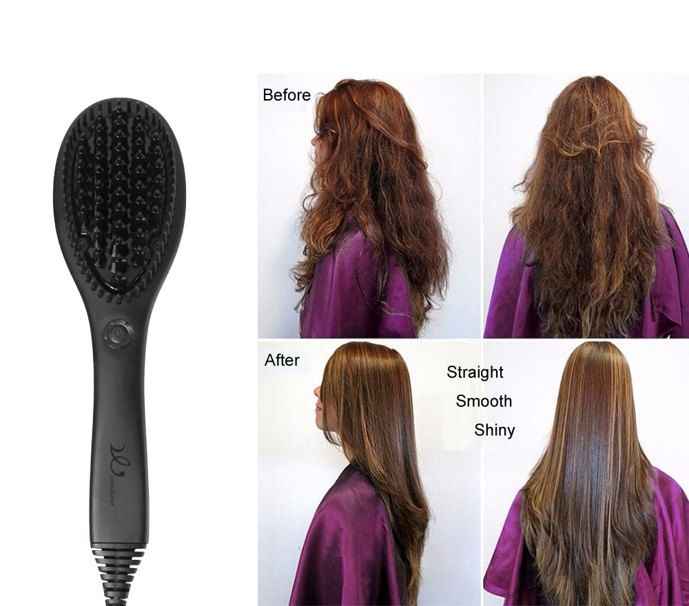 Hair Straightening Hot Comb