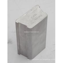 Tubo de perfil de aleación de aluminio / aluminio de aleación