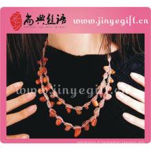 Bijoux fantaisie fait à la main de style charmant Multi Chain Necklace