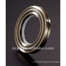 CE04 plastic brass eyelet curtain rings