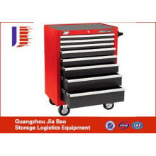 Professional Outdoor 4 Wheel Tool Storage Cabinets with 5 d