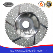 Od125mm Electroplated Diamond Cup Wheel pour meulage