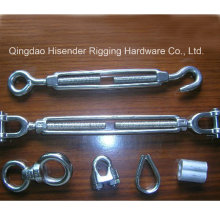 Turnbuckle Malleable Korea Type. Us Type Forged, Rigging Screw with Jaw and Jaw