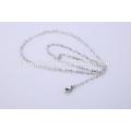 Simples Design Jóias Colar Cadeia de aço inoxidável para Lady BSL004-1