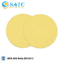 manufacture price 225mm yellow wall dry sanding disc in china