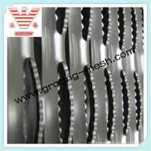 Acero inoxidable / Antideslizante / A cuadros / Aprobación de placas ISO