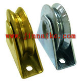 Zinc Y V U H groove sliding gate wheel ,sliding door roller for swing gate