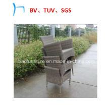 Chaise empilable de loisirs de meubles de jardin (8004AC)