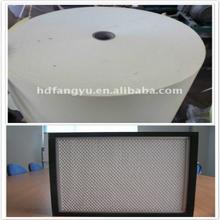 Papel de filtro de ar de fibra de vidro F8