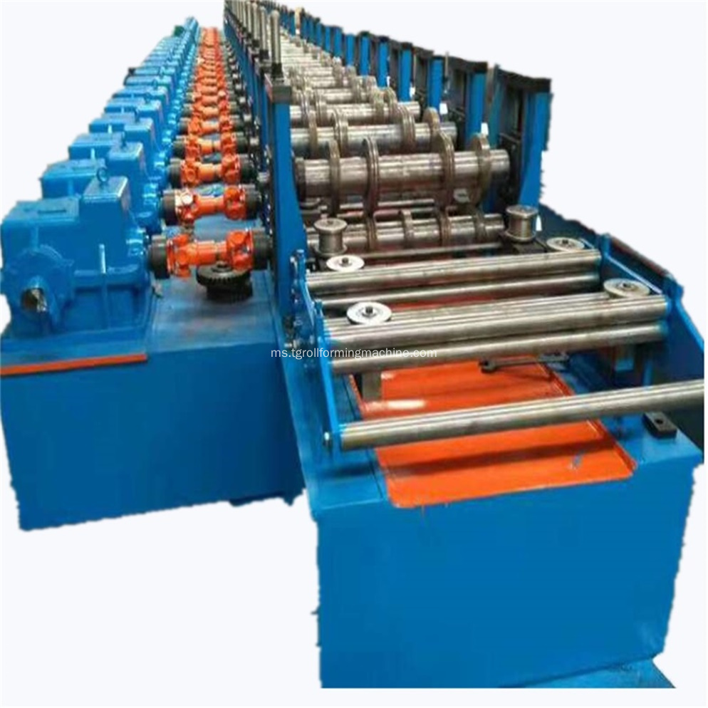 Perancah Metal Deck Cold Roll Forming Machine