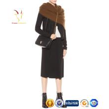 Merino Wolle Custom Schal gewebte Frauen Seide