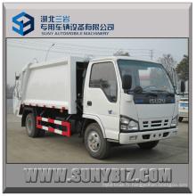3 Poubelle Cubic Isuzu 100p 4X2 Compactor Garbage Truck