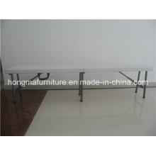 6ft Популярная пластиковая складная скамья для наружного использования