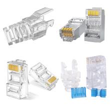 OEM Electronic Enclosure Parts Molding Network Cable Plug Precision Mold Maker Plastic Injection Moulding