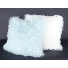 Curly Lamb Mongolian Fur Sofa Pillow