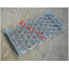 reno-colchão / verde terramesh arame de pedra gaiola gabion malha de arame hexagonal