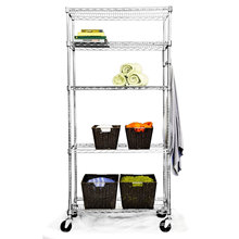 Adjustable Chrome Wire Racking for Hotel Kitchen and Cold Room Storage