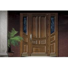 Italia puerta de acero blindada puerta dormitorio proveedor China (D4015)