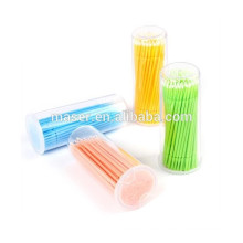 100pcs Wimpernverlängerung MicroBrushes, Mikrobürsten Wimpernverlängerungswerkzeug / Kleberentfernungswerkzeug