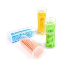 100pcs Eyelash Extension MicroBrushes, micro pinceau Eyelash Extension Tool / Glue Removing Tool