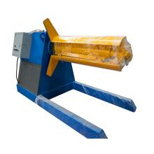 10 T de aço tira automática hidráulica china fabricantes fornecedores preço uncoiler máquina