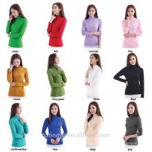 Заполненный и OEM базовые простые модальные футболка женщины Исламская мусульманский одежда
