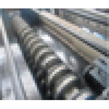 Corte hidráulico, cortante transversal automático cortando la máquina