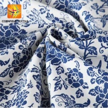 Синий и Белый Фарфор 100% хлопок Печатная Ткань Холста