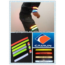 reflective wrist bands.pvc material