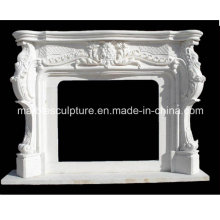 Stone Carved Marble Fireplace Surround (SY-MF029)