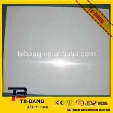 Hoja simple de aluminio con PE protege la película