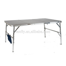 new design camping furniure space saving extention table