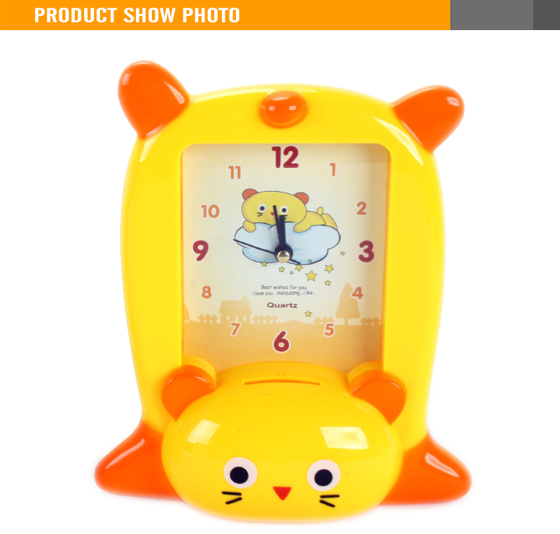 Plastic Clock Toy (1)