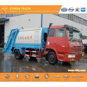 SHACMAN aolong 4x2  trash truck