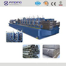 steel welded pipe roll forming machine