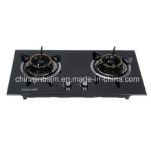 2 Burners 730 Tempered Glass Top Built-in Hob/Gas Hob