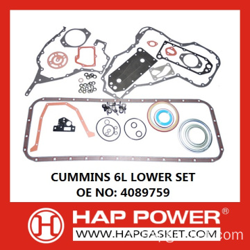 CUMMINS 6L SET INFERIORE 4089759