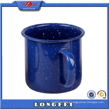 Dark Color with Speckle European Enamel Camping Mug Wholesale