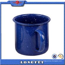 Dark Color with Speckle European Enamel Camping Mug Wholesale