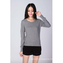 Senhoras ′ moda suéter de cashmere (1500008059)