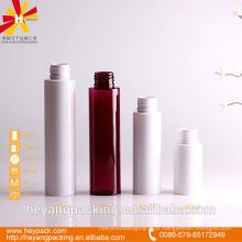 40/80/100 / 110ml branco e vermelho pequeno pet vazio garrafa
