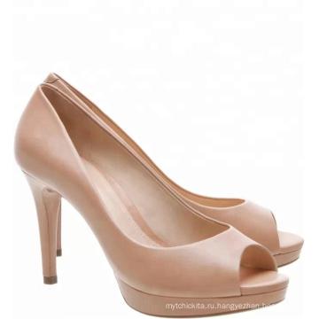 Беверли обнаженных женщин туфли на платформе платье