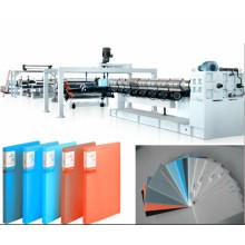 Línea de la protuberancia de la hoja de la espuma de los efectos de escritorio de los PP PE / maquinaria plástica química de la hoja de la espuma que produce la maquinaria