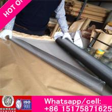 Conducta de calor y resistencia a la corrosión Malla de alambre de molibdeno para tamizar y filtrar